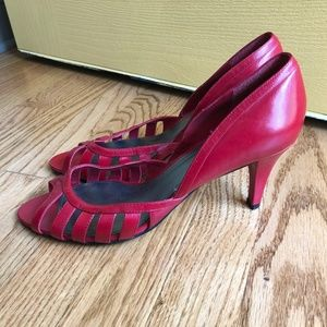 Enzo Angiolini Red Heels